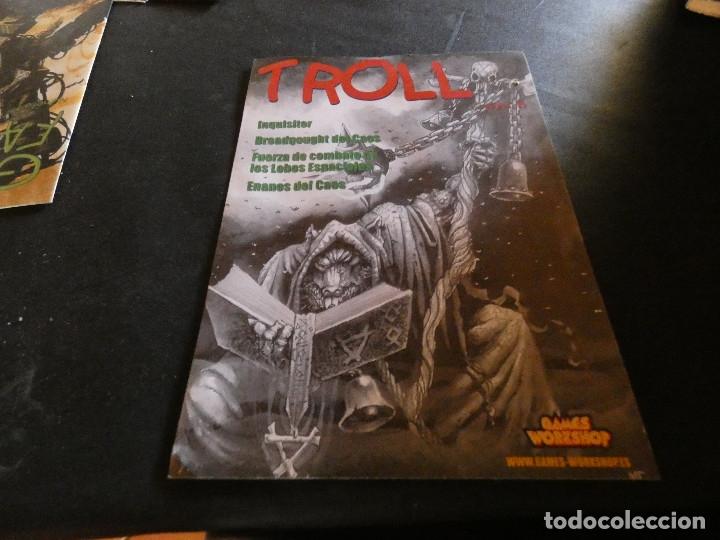 REVISTA DE ROL TROLL NUMERO 15 (Libros de Segunda Mano (posteriores a 1936) - Literatura - Narrativa - Ciencia Ficción y Fantasía)
