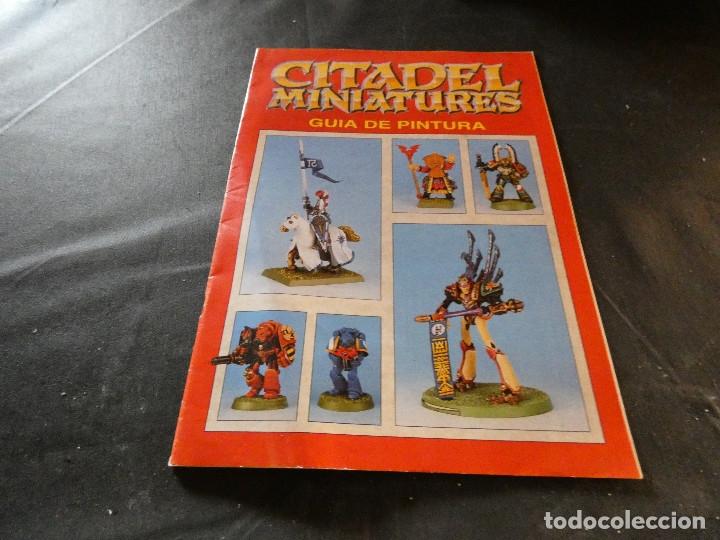 GUIA DE PINTURAS CITADEL MINIATURAS (Libros de Segunda Mano (posteriores a 1936) - Literatura - Narrativa - Ciencia Ficción y Fantasía)