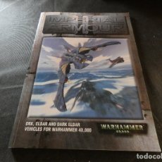Libros de segunda mano: WARHAMMER IMPERIAL ARMOUR II ORK ELDAR AND DARK ELDAR VEHICLES FOR WARHAMMER 400000. Lote 178907535