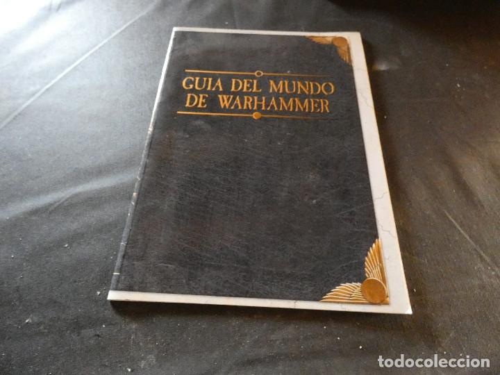 GUIA DEL MUNDO DE WARHAMMER SUPLEMENTO (Libros de Segunda Mano (posteriores a 1936) - Literatura - Narrativa - Ciencia Ficción y Fantasía)