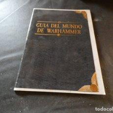 Libros de segunda mano: GUIA DEL MUNDO DE WARHAMMER SUPLEMENTO . Lote 178907576