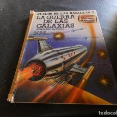 Libros de segunda mano: JUEGOS DE LAS BATALLAS 3 LA GUERRA DE LAS GALAXIAS ANDREW MC NEIL LOMO SUELTO PERO PRESENTE. Lote 178908000