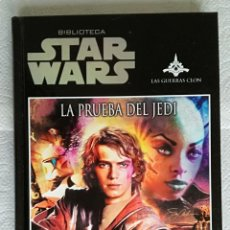 Libros de segunda mano: STAR WARS: LA PRUEBA DEL JEDI - DAVID SHERMAN & DAN CRAGG; PLANETA DEAGOSTINI. Lote 179051215