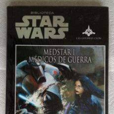 Libros de segunda mano: BIBLIOTECA STAR WARS: MEDSTAR I. MEDICOS DE GUERRA - MICHAEL REAVES & STEVE PERRY; PRECINTADO. Lote 179051392