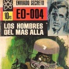 Livres d'occasion: LOS HOMBRES DEL MÁS ALLÁ. SILVER KANE. BRUGUERA. ENVIADO SECRETO, Nº 51.. Lote 179069752
