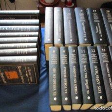 Libros de segunda mano: ROBERT JORDAN, LA RUEDA DEL TIEMPO CON BRANDON SANDERSON, OBRA COMPLETA 21 LIBROS. Lote 179149010