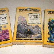 Libros de segunda mano: EL SEÑOR DEL TIEMPO - LOUISE COOPER - COMPLETA EN 3 TOMOS . Lote 179173746