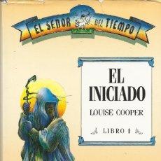Libros de segunda mano: EL SEÑOR DEL TIEMPO (III TOMOS), LOUISE COOPER. Lote 179191631