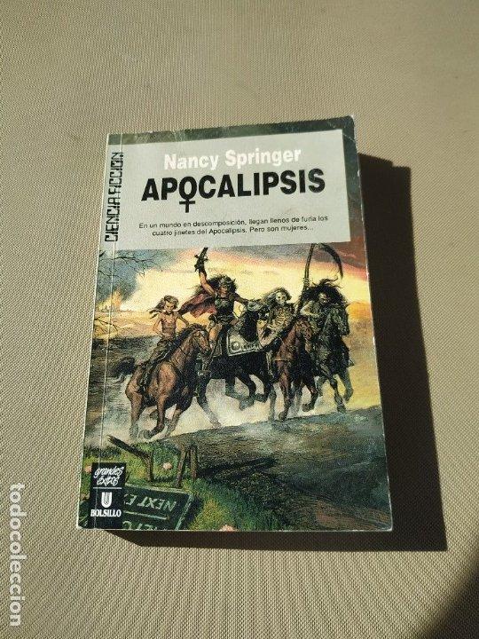 APOCALIPSIS - NANCY SPRINGER. ULTRAMAR (Libros de Segunda Mano (posteriores a 1936) - Literatura - Narrativa - Ciencia Ficción y Fantasía)