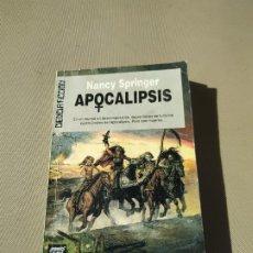 Libros de segunda mano: APOCALIPSIS - NANCY SPRINGER. ULTRAMAR. Lote 179374647