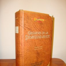 Libros de segunda mano: CRÓNICAS DE LA DRAGONLANCE - MARGARET WEIS, TRACY HICKMAN - EDICIÓN PARA COLECCIONISTAS. Lote 179402418