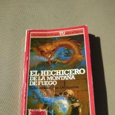 Libros de segunda mano: EL HECHICERO DE LA MONTAÑA DE FUEGO. LUCHA FICCIÓN 1 - JACKSON/LIVINGSTONE. ALTEA JUNIOR. Lote 180013297