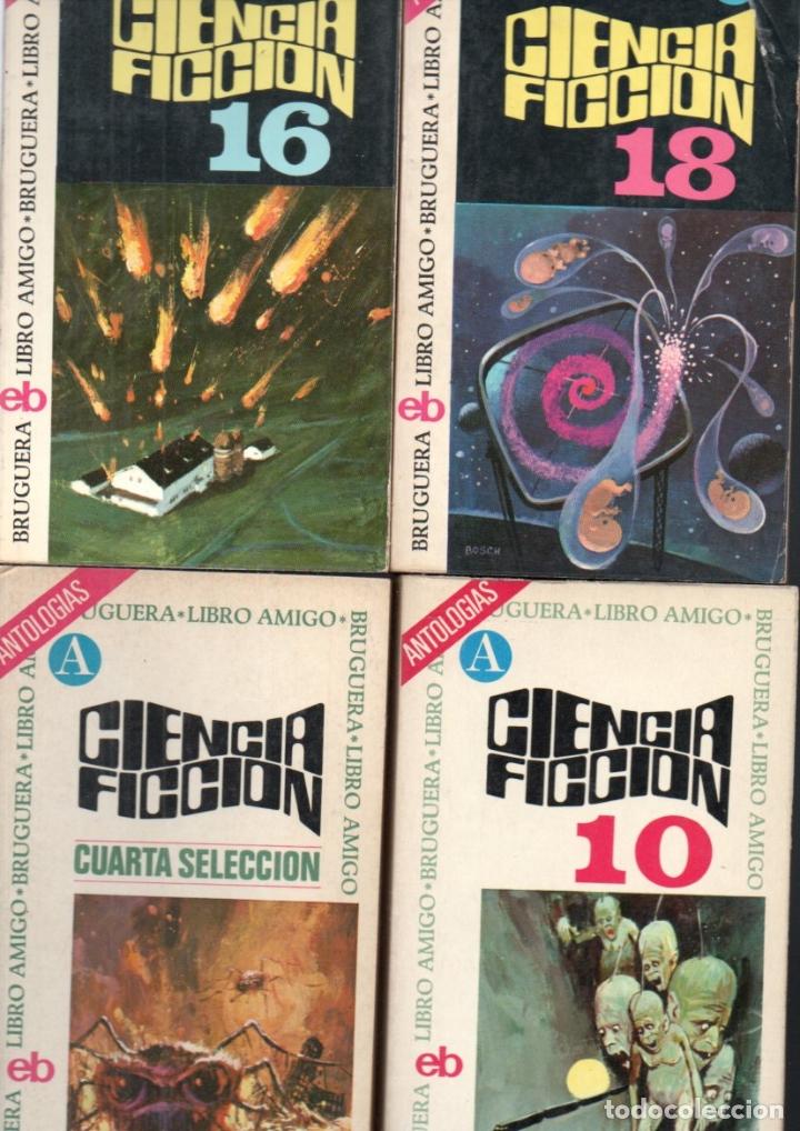Libros de segunda mano: 18 NOVELAS BRUGUERA CIENCIA FICCIÓN - Foto 2 - 180079503