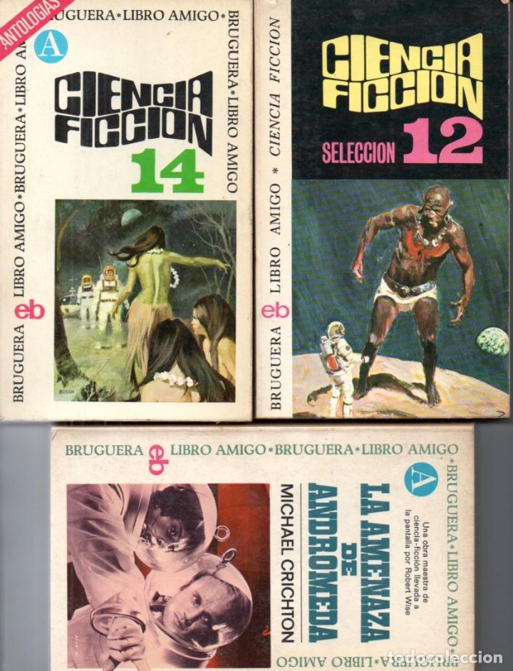 Libros de segunda mano: 18 NOVELAS BRUGUERA CIENCIA FICCIÓN - Foto 3 - 180079503