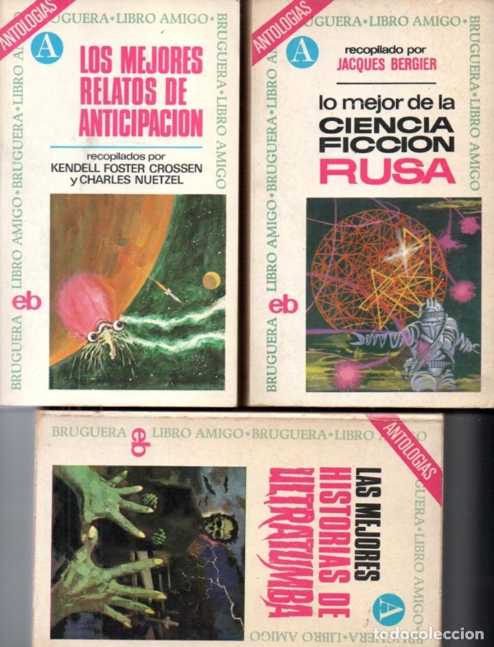 Libros de segunda mano: 18 NOVELAS BRUGUERA CIENCIA FICCIÓN - Foto 4 - 180079503