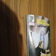 Libros de segunda mano: ESTUDIOS SOBRE EL MIEDO. LOU CARRIGAN. RÚSTICA. TERROR. PEQUEÑO FORMATO. BUEN ESTADO. Lote 180210701