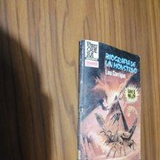 Libros de segunda mano: BIOGRAFIA DE UN MONSTRUO. LOU CARRIGAN. PEQUEÑO FORMATO. BUEN ESTADO. . Lote 180210760