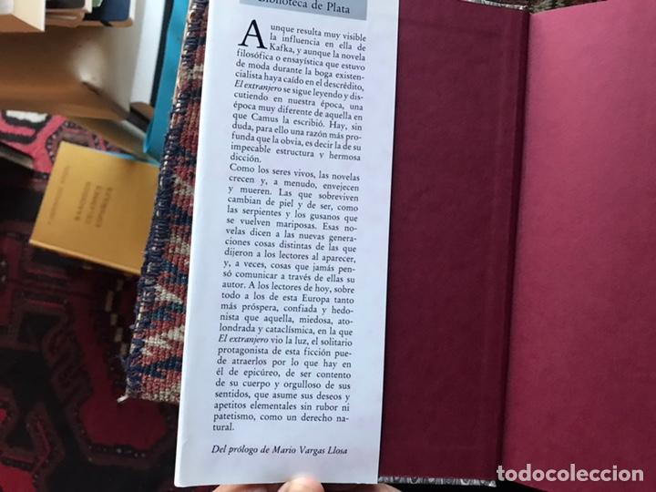 Libros de segunda mano: El extranjero. Albert Camus. Biblioteca de plata. Círculo de lectores. Como nuevo - Foto 3 - 180245848