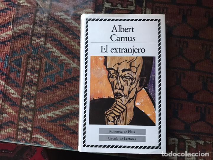 EL EXTRANJERO. ALBERT CAMUS. BIBLIOTECA DE PLATA. CÍRCULO DE LECTORES. COMO NUEVO (Libros de Segunda Mano (posteriores a 1936) - Literatura - Narrativa - Ciencia Ficción y Fantasía)