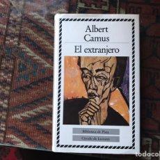 Libros de segunda mano: EL EXTRANJERO. ALBERT CAMUS. BIBLIOTECA DE PLATA. CÍRCULO DE LECTORES. COMO NUEVO. Lote 180245848