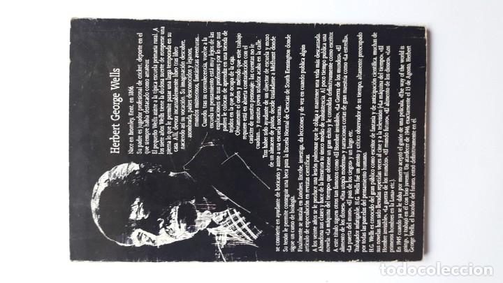 Libros de segunda mano: La máquina del tiempo. H. G. Wells. Ediciones Ancora 1986 - Foto 2 - 180258471
