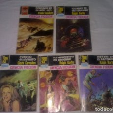 Libros de segunda mano: LOTE DE 5 NOVELAS DEL ESPACIO. Lote 180402578