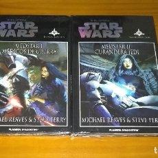 Libros de segunda mano: STAR WARS MEDSTAR I + II MICHAEL REAVES & STEVE PERRY PLANETA DE AGOSTINI PRECINTADO. Lote 181028003