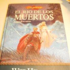 Libros de segunda mano: EL RÍO DE LOS MUERTOS. LA GUERRA DE LOS ESPÍRITUS 2. W. HICKMAN. TIMUNMAS 2004 428 PÁG (SEMINUEVO). Lote 181093405