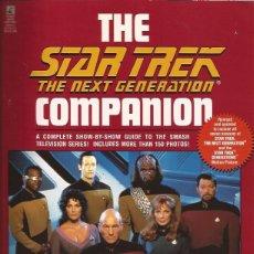 Libros de segunda mano: LIBRO STAR TREK THE NEXT GENERATION COMPANION LARRY NEMECEK CIENCIA FICCION TV. Lote 181445768