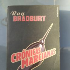 Libros de segunda mano: CRÓNICAS MARCIANAS DE RAY BRADBURY. Lote 181501407