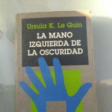 Libros de segunda mano: LA MANO IZQUIERDA DE LA HUMANIDAD DE ÚRSULA K LE GUIN. Lote 181502247