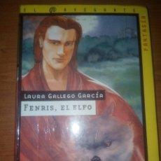 Libros de segunda mano: FENRIS EL ELFO LAURA GALLEGO GARCÍA EDITORIAL SM,4ª EDICION. Lote 177711155