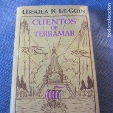 Libros de segunda mano: CUENTOS DE TERRAMAR- URSULA K. LE GUIN- MINOTAURO- 1ª EDICION 2002- IMPECABLE. Lote 181765616
