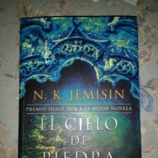 Libros de segunda mano: EL CIELO DE PIEDRA, DE N. K. JEMISIN. TRILOGÍA DE LA TIERRA FRAGMENTADA, VOL 3. Lote 181939617