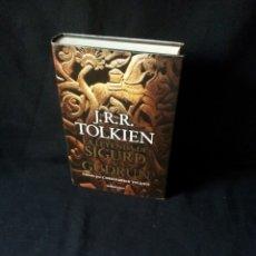 Libros de segunda mano: J.R.R. TOLKIEN - LA LEYENDA DE SIGURD & GUDRUN - MINOTAURO 2009. Lote 181980055