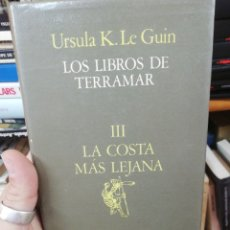 Libros de segunda mano: URSULA K. LE GUIN. LOS LIBROS DE TERRAMAR. III. LA COSTA LEJANA. Lote 182264172