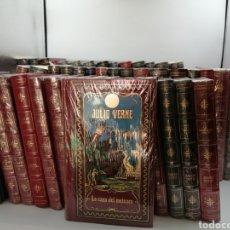 Libros de segunda mano: 51 NOVELAS JULIO VERNE RBA. Lote 182284188