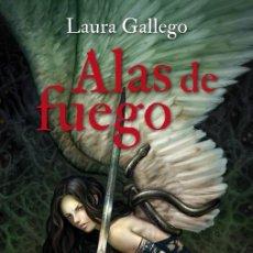 Libros de segunda mano: ALAS DE FUEGO. - GALLEGO GARCÍA, LAURA.. Lote 182354913