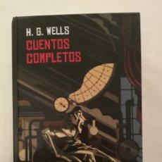 Libros de segunda mano: CUENTOS COMPLETOS. H.G. WELLS. VALDEMAR. Lote 182377153