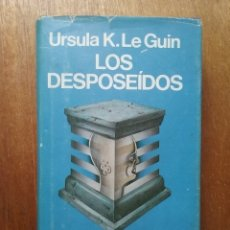 Libros de segunda mano: LOS DESPOSEIDOS, URSULA K LE GUIN, MINOTAURO, PRIMERA EDICION, 1983. Lote 182431563