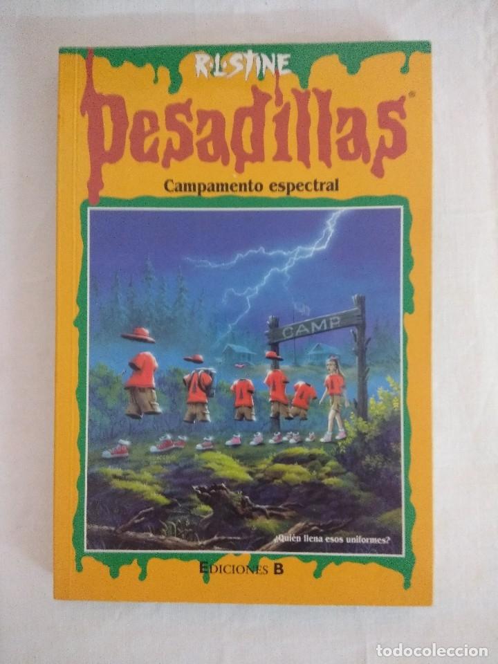LIBRO PESADILLAS Nº43/CAMPAMENTO ESPECTRAL/R.L.STINE-EDICIONES B. (Libros de Segunda Mano (posteriores a 1936) - Literatura - Narrativa - Ciencia Ficción y Fantasía)