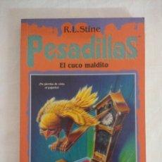 Libros de segunda mano: LIBRO PESADILLAS Nº20/EL CUCO MALDITO/R.L.STINE-EDICIONES B.. Lote 182669891