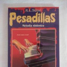 Libros de segunda mano: LIBRO PESADILLAS Nº13/MELODIA SINIESTRA/R.L.STINE-EDICIONES B.. Lote 182670097