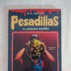 Libros de segunda mano: LIBRO PESADILLAS Nº12/LA MASCARA MALDITA/R.L.STINE-EDICIONES B.. Lote 182670298