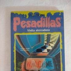 Libros de segunda mano: LIBRO PESADILLAS Nº11/VISITA ATERRADORA/R.L.STINE-EDICIONES B.. Lote 182670716