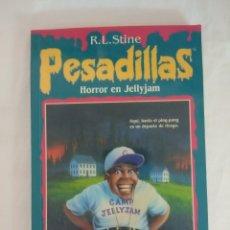 Libros de segunda mano: LIBRO PESADILLAS Nº24/HORROR EN JELLYJAM/R.L.STINE-EDICIONES B.. Lote 182670783