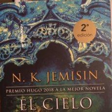 Libros de segunda mano: N. K. JEMISIN . EL CIELO DE PIEDRA .NOVA .EJEMPLAR NUEVO.. Lote 182778676