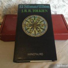 Libros de segunda mano: EL SIMARILLION TOLKIEN MINOTAURO 1984. Lote 182817680