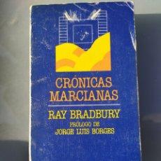 Libros de segunda mano: CRÓNICAS MARCIANAS DE RAY BRADBURY. Lote 182851191