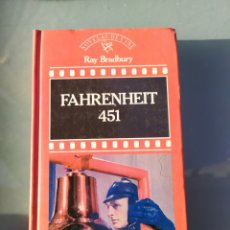 Libros de segunda mano: FARENHEIT 451 DE RAY BRADBURY. Lote 182851306